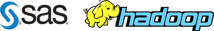 SAS Hadoop logo
