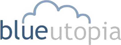 Blue Utopia logo