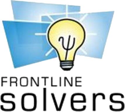 Frontline Solver SDK Platform logo
