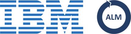 IBM Application Lifecycle Management logo