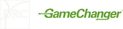 DRC GameChanger logo
