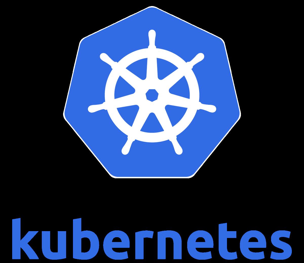 Kubernetes (K8s) logo