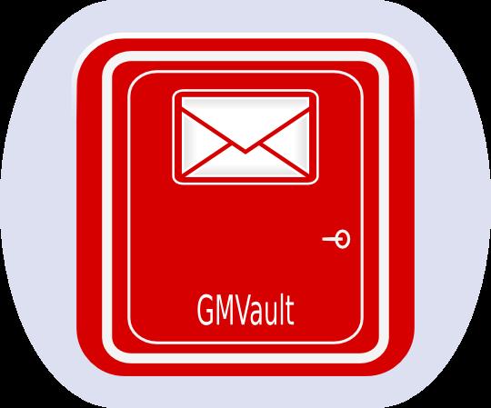 Gmvault  Gmail Backup logo