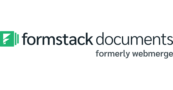 Formstack Documents (formerly WebMerge) logo