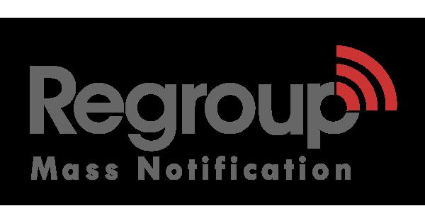 Regroup Mass Notification logo