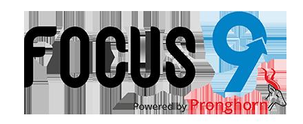 Focus 9 logo